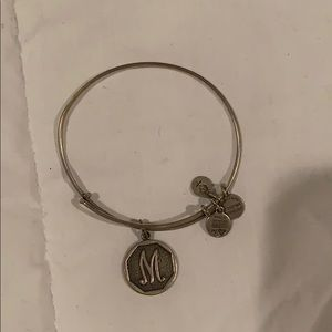 "Alex and Ani ""M"" bracelet"